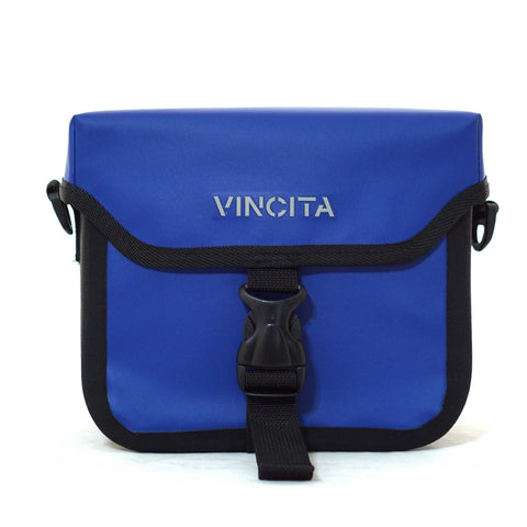 Vincita Co., Ltd. bicycle bag Blue / th B017WP-AK Handlebar Bag Waterproof with KlickFix Adapter for Brompton