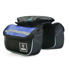 Vincita Co., Ltd. bicycle bag Blue / th B029T Top Tube Bag Duo Tarpaulin