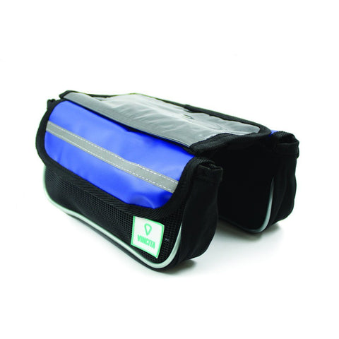 Vincita Co., Ltd. bicycle bag Blue / th B029TX Top Tube Bag Duo Tarpaulin