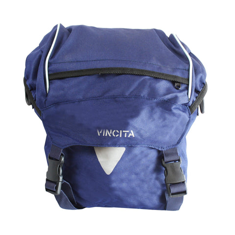 vincitabikebag bicycle bag Blue / th B050-V Single Pannier Small