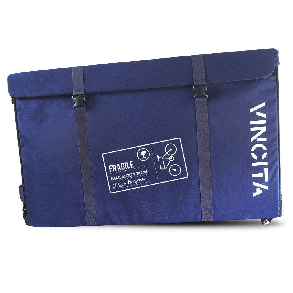 Vincita Co., Ltd. bicycle bag Blue / th B144X Semi-Hard Case with Wheels