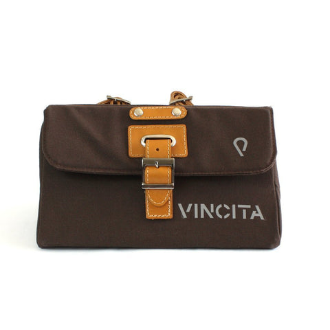 Vincita Co., Ltd. bicycle bag Brown B153T-S Tempo Saddle Bag Small