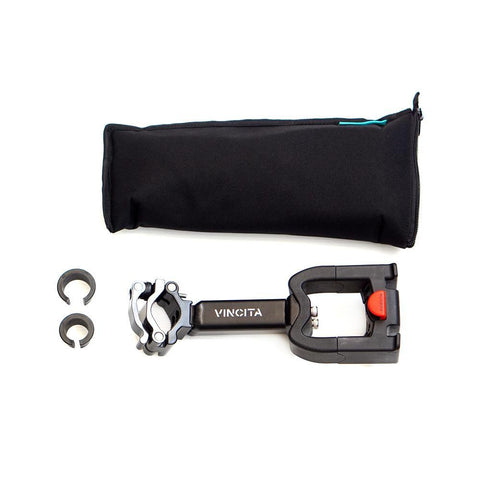 Vincita Co., Ltd. C045 / C046 Quick Release Seatpost adapter for KlickFix bag