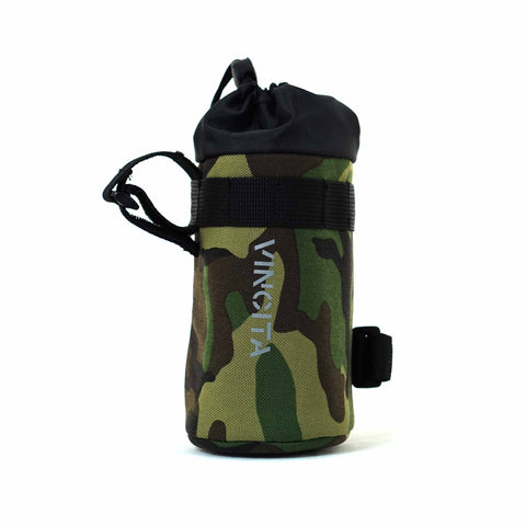 Vincita Co., Ltd. bicycle bag camouflage / th B124 Insulated bottle holder