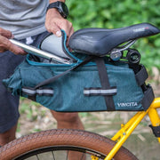 Vincita Co., Ltd. bicycle bag Charcoal grey / th B038BP STRADA BIKEPACKING SADDLE BAG
