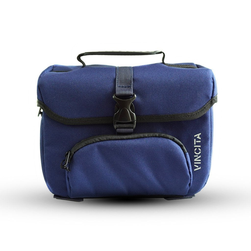 Vincita Co., Ltd. bicycle bag Dark Blue / th B017D-K Mini Front Bag for Brompton with KlickFix Adapter