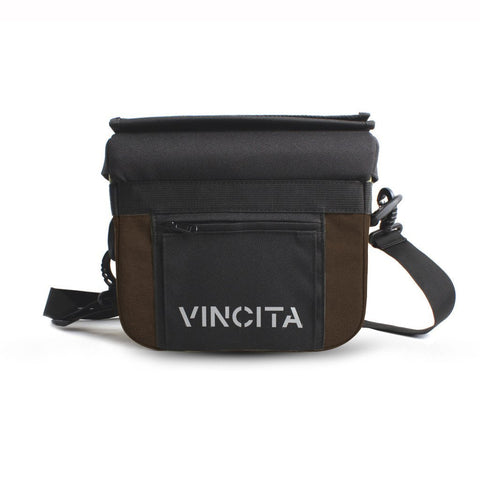 Vincita Co., Ltd. bicycle bag Dark Brown / th B012U John Handlebar Bag