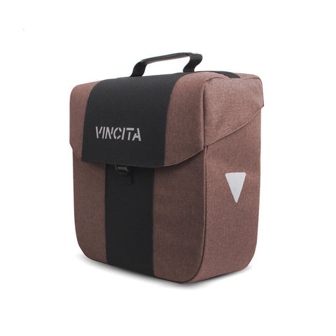 Vincita Co., Ltd. bicycle bag Faded Dark Brown / th B074U Bob Single Pannier