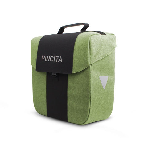 Vincita Co., Ltd. bicycle bag Faded Dark Green / th B074U Bob Single Pannier