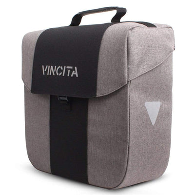 Vincita Co., Ltd. bicycle bag Faded Grey / th Bob Single Pannier