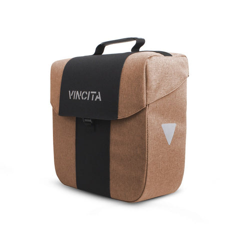 Vincita Co., Ltd. bicycle bag Faded Light Brown / th B074U Bob Single Pannier