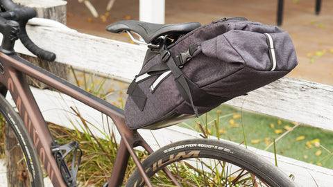 Vincita Co., Ltd. bicycle bag Forest green / th B038BP STRADA BIKEPACKING SADDLE BAG