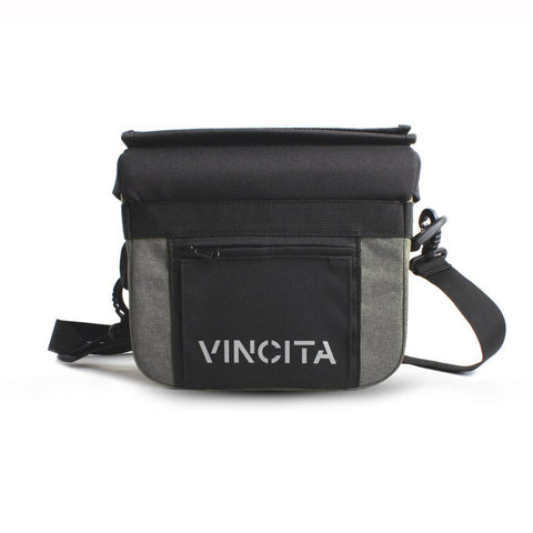 Vincita Co., Ltd. bicycle bag Gray / th B012U John Handlebar Bag