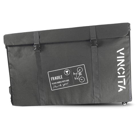 Vincita Co., Ltd. bicycle bag Gray / th B144X Semi-Hard Case with Wheels