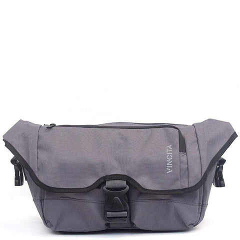 Vincita Co., Ltd. bicycle bag Gray / th Baby Birch Brompton Front bag KlickFix Adapter