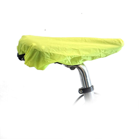 Vincita Co., Ltd. Bike cover greenyellow Foldable rain cover for bike saddle