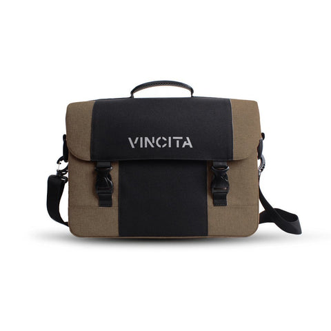 Vincita Co., Ltd. bicycle bag Light Brown / th B205U Brad Messenger/Pannier Bag