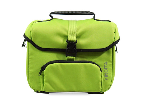 Vincita Co., Ltd. bicycle bag Lime / th B017D-K Mini Front Bag for Brompton with KlickFix Adapter