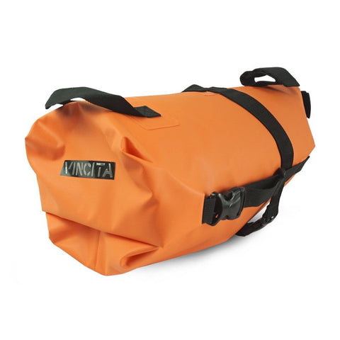 Vincita Co., Ltd. bicycle bag Orange / th B038WP Touring Waterproof Saddle Bag