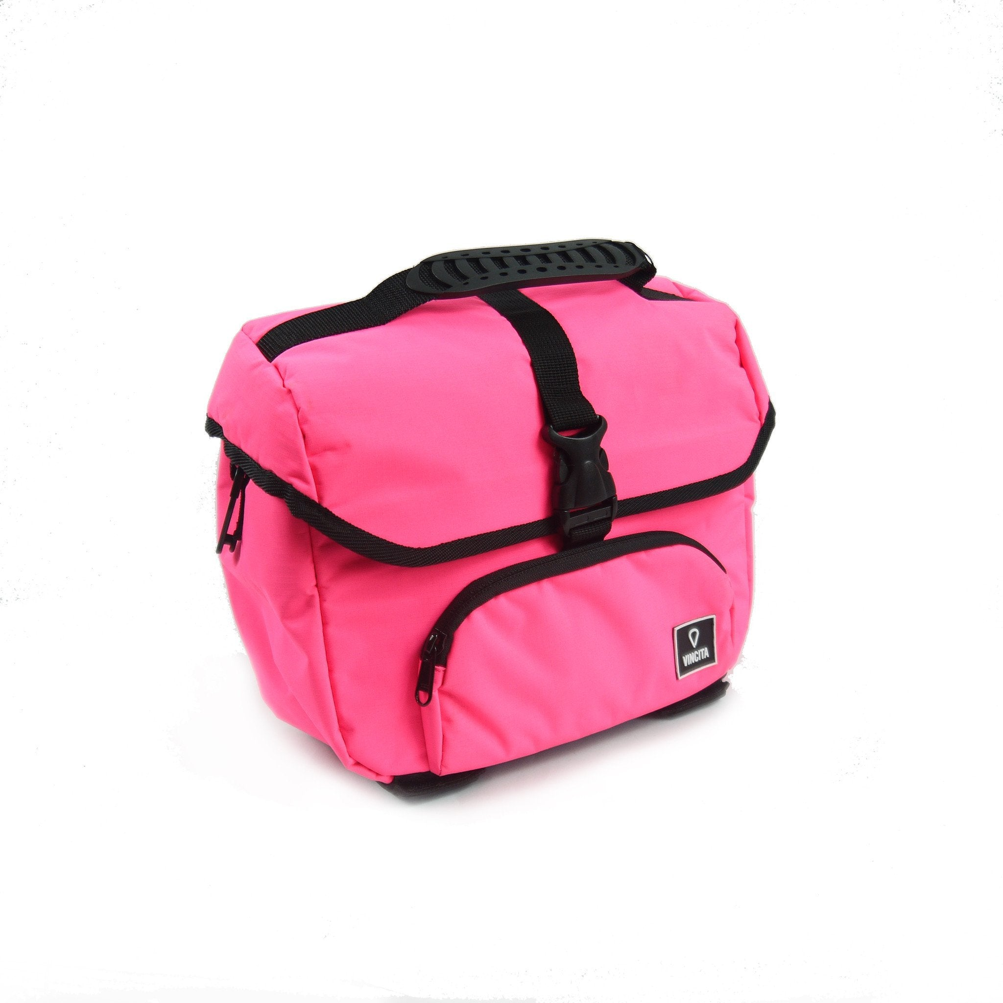 Vincita Co., Ltd. bicycle bag Pink / th B017D-K Mini Front Bag for Brompton with KlickFix Adapter