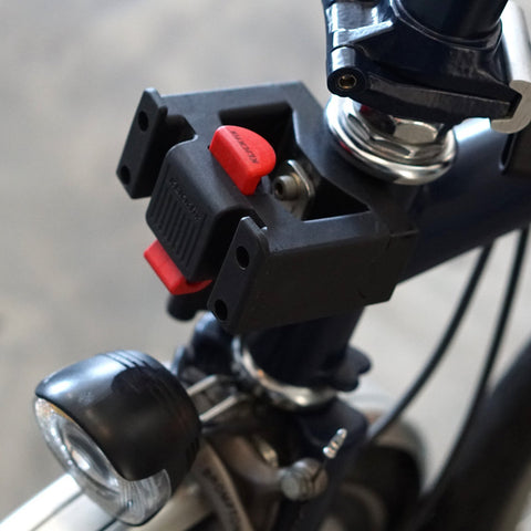 Vincita Co., Ltd. Accessories QR036 Modified KlickFix Adapter for Brompton Head Tube