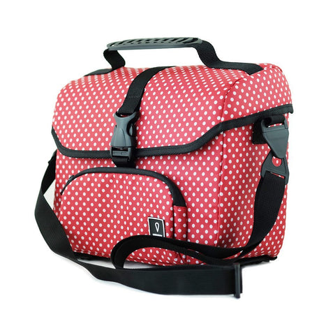 Vincita Co., Ltd. bicycle bag Red Polka Dot / th B017D-K Mini Front Bag for Brompton with KlickFix Adapter