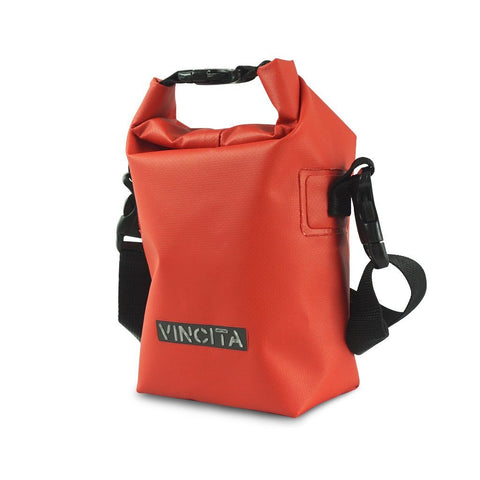 Vincita Co., Ltd. bicycle bag red / th B038WP-S Small Waterproof Bag