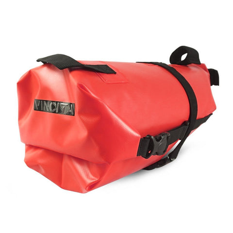 Vincita Co., Ltd. bicycle bag Red / th B038WP Touring Waterproof Saddle Bag