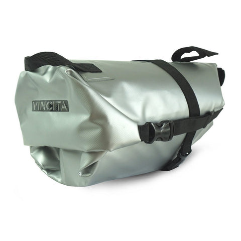 Vincita Co., Ltd. bicycle bag Silver / th B038WP Touring Waterproof Saddle Bag