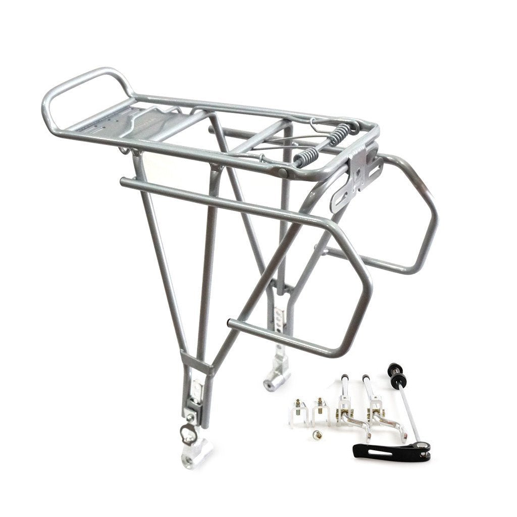 vincitabikebag Racks Silver / th C008 Rear Carrier Tour Disc QR