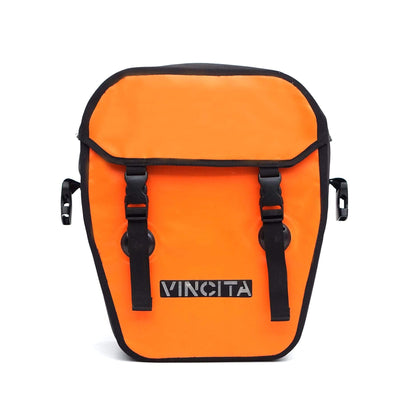 vincitabikebag bicycle bag Single Pannier Waterproof L with Cover