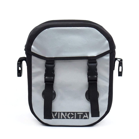 vincitabikebag bicycle bag Small Waterproof Single Pannier with Cover