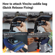 Vincita Co., Ltd. bicycle bag Stash Pack Alien Small