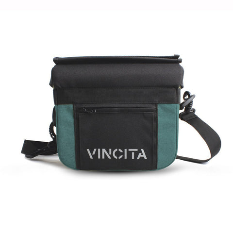 Vincita Co., Ltd. bicycle bag Turquoise / th B012U John Handlebar Bag