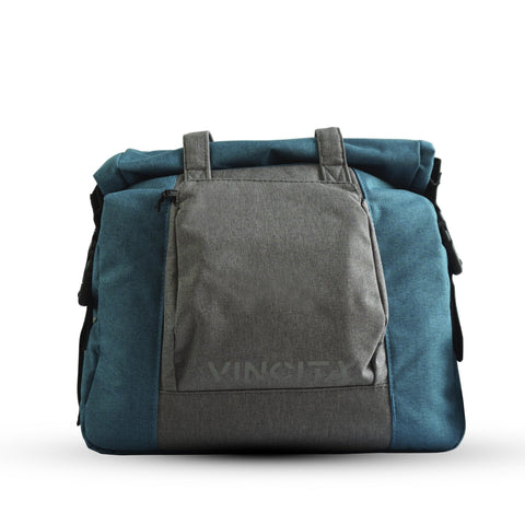 Vincita Co., Ltd. bicycle bag Turquoise / th B071U Victoria Single Pannier