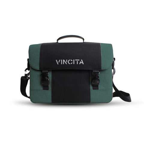 Vincita Co., Ltd. bicycle bag Turquoise / th B205U Brad Messenger/Pannier Bag