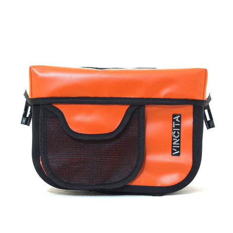 Vincita Co., Ltd. bicycle bag Waterproof Handlebar Bag with KlickFix Adapter for Brompton