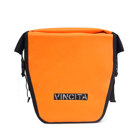 vincitabikebag bicycle bag Waterproof Large Pannier (Pair) - Vincita Standard Clilp