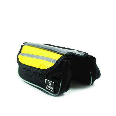 Vincita Co., Ltd. bicycle bag Yellow / th B029TX Top Tube Bag Duo Tarpaulin