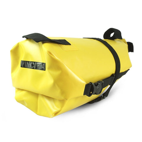 Vincita Co., Ltd. bicycle bag Yellow / th B038WP Touring Waterproof Saddle Bag