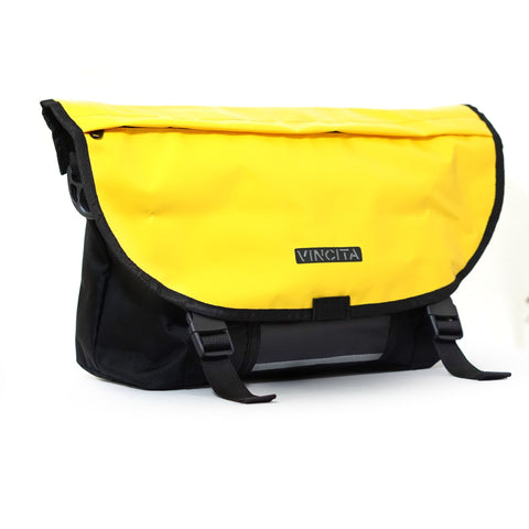 vincitabikebag bicycle bag Yellow / th B205MB Messenger Bag for Brompton