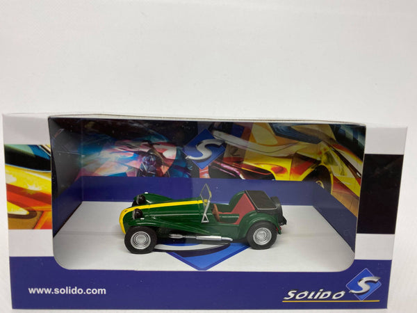 Lotus 7 . Solido . 1/43 Scale. Boxed .