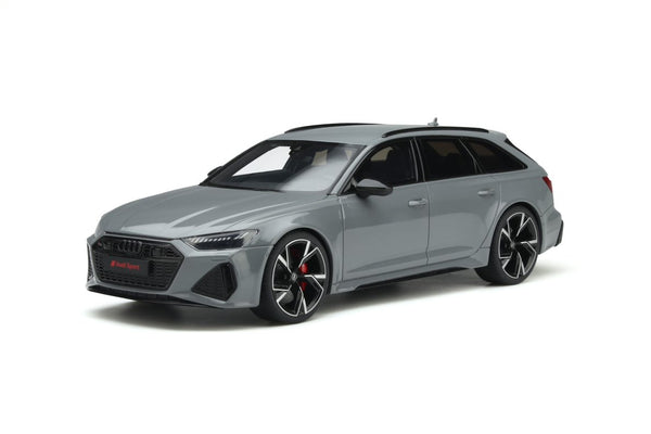 Coming Soon. Audi RS6 Avant . Nardo Grey . 1/18 Scale. GT Spirit . (GT847) Due September 2021