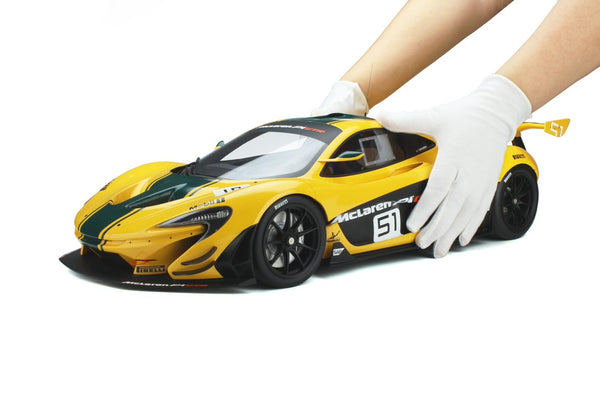 Coming Soon . McLaren P1 GTR 1/8 Scale . GT Spirit . Pre-Order . Due August 2021