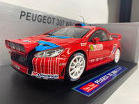 Peugeot 307 WRC . Astra Racing #16  . Sunstar . 1/18 Scale. Boxed .