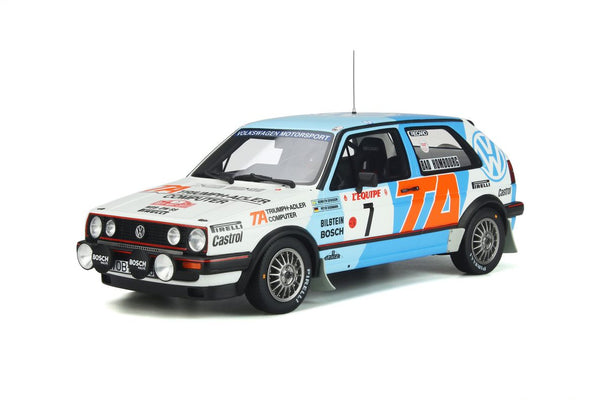 Coming Soon. Volkswagen Golf Mk2 GTi 16V Grp A . 1/18 Scale. OTTO . (OT852) Due March 2021.