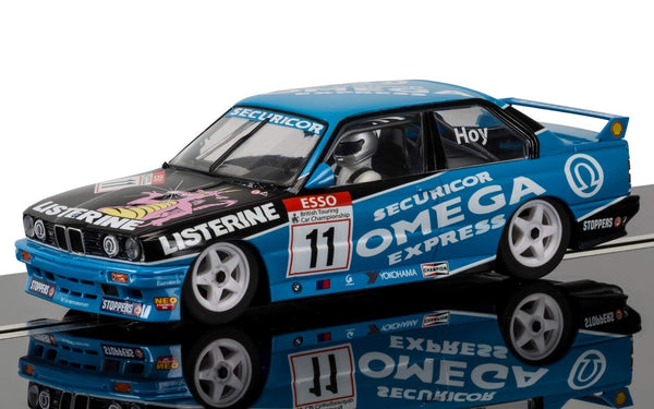 BMW E30 M3 . BTCC Special Edition . Will Hoy . 1/32 Scalextric . New & Boxed . (C3866SE)