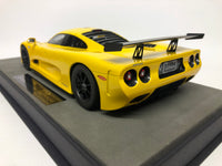 Mosler MT 900 . Top Marques. Yellow .  1/18 Scale. Boxed