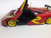 McLaren F1 GTR . Red . Solido . 1/18 Scale. New & Boxed .