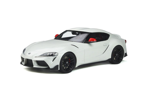 Coming Soon. Toyota Supra GR . Fuji White .1/18 Scale. GT Spirit . (GT341) Due June 2021